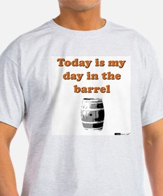 My day in the barrel Ash Grey T-Shirt