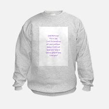 Good Morning from God Sweatshirt