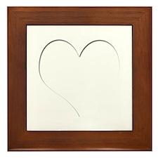 The Heart Zone Framed Tile