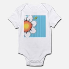 Daisy Joy blue Infant Bodysuit