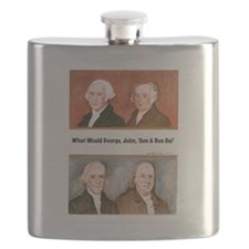 What Would George, John, Tom Ben Do? Flask