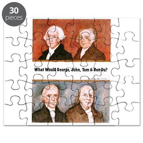 What Would George, John, Tom Ben Do? Puzzle