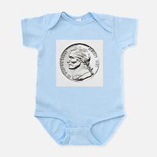 1985 Nickel Infant Creeper
