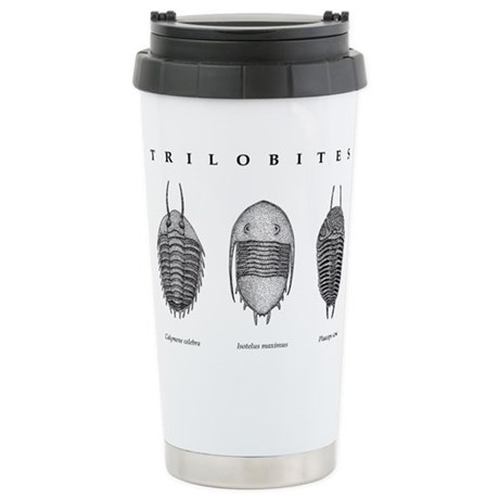 Trilobites Stainless Steel Travel Mug