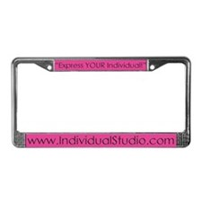 Individual Studio License Plate Frame