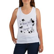 Make Art & Spread Joy Women's Tank Top