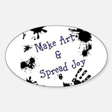 Make Art & Spread Joy Decal