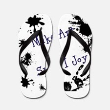 Make Art & Spread Joy Flip Flops