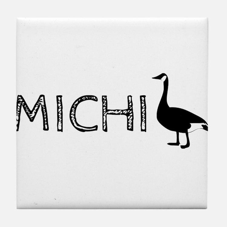 Michigander Tile Coaster