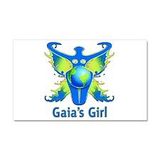 Gaia's Girl Car Magnet 20 x 12