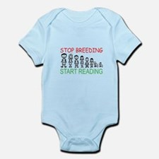 Stop Breeding Infant Bodysuit