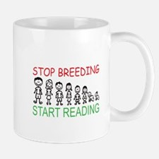 Stop Breeding Mug