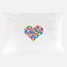 Rainbow Heart of Hearts Pillow Case