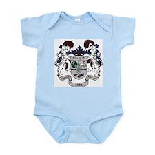 Delta Xi Phi Crest Infant Bodysuit