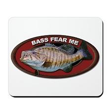Bass Fear Me Mousepad