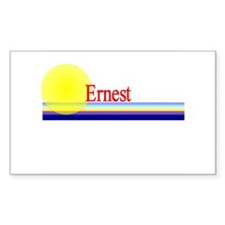 Ernest Rectangle Decal