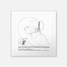 """Christian Poetry Square Sticker 3"""" x 3"""""""