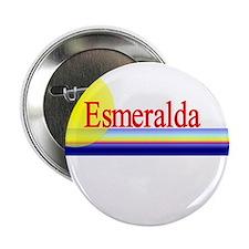 """Esmeralda 2.25"""" Button (10 pack)"""