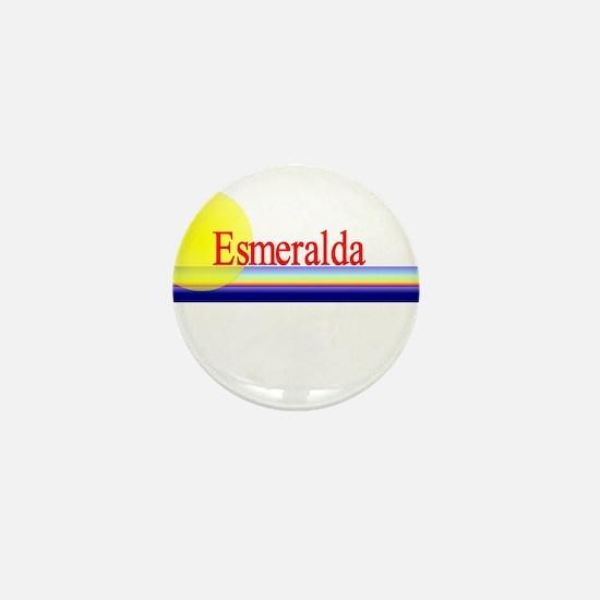 Esmeralda Mini Button