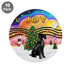 "XMusic2-Giant Schnauzer 3.5"" Button (10 pack)"