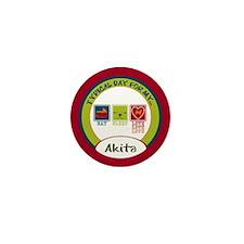 Akita Mini Button (10 pack)