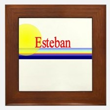 Esteban Framed Tile