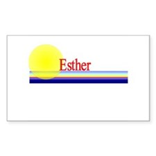 Esther Rectangle Decal