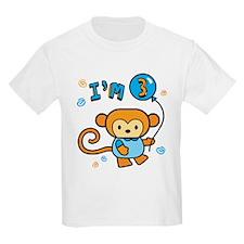 Lil' Monkey 3rd Birthday T-Shirt