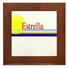 Estrella Framed Tile