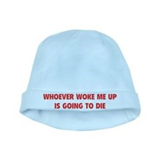 Whoever Woke Me Up baby hat