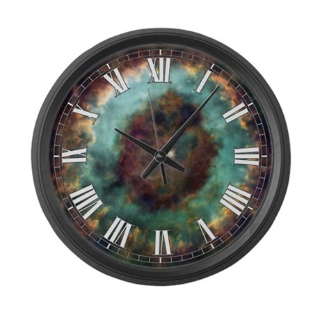 NGC 6369 Large Wall Clock