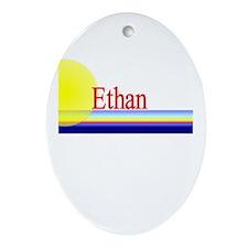Ethan Oval Ornament