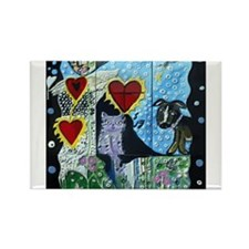 Antonia Gerstacker Rectangle Magnet (10 pack)