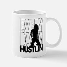 Everyday Im Hustlin - Sexy Black Silhouette Mug