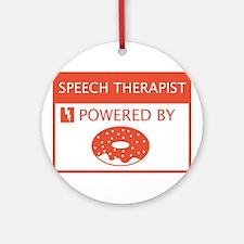 Speech Therapist Ornament (Round)