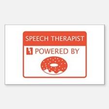 Speech Therapist Decal