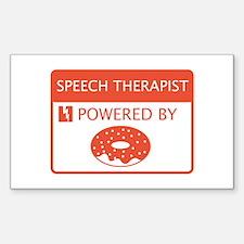 Speech Therapist Sticker (Rectangle)