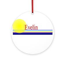 Evelin Ornament (Round)