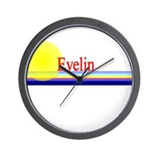 Evelin Wall Clock