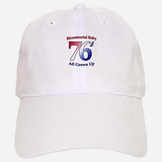 Bicentennial Baby - All Grown Baseball Baseball Cap