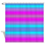 Fluorescent Neon Shower Curtain