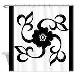 Elegant Flower Shower Curtain