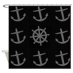 Boat Anchor Shower Curtain