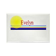 Evelyn Rectangle Magnet (10 pack)