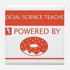 Social Science Teacher Powered by Doughnuts Tile C