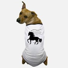 The Music of the Paso Fino Dog T-Shirt