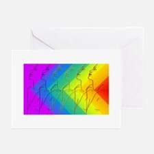 Rainbow Girl Greeting Cards (Pk of 10)