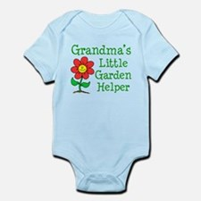Grandmas Little Garden Helper Infant Bodysuit
