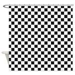 Checkered Board Shower Curtain