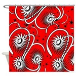 Funky and Cool Art Shower Curtain